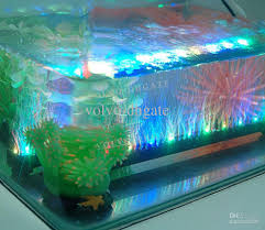 cheap multi color led aquarium light 12 leds 1 5w 31cm led