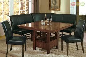 Salem 6pc Breakfast Nook Dining Set Table Corner Bench Chairs