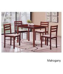 T2A Duflex Modern Rectangular Four Seater Solid Wood Dining Table ... Shop Psca6cmah Mahogany Finish 4chair And Ding Bench 6piece Three Posts Remsen Extendable Set With 6 Chairs Reviews Fniture Pating By The Professionals Matthews Restoration Tustin Chair Room Store Antoinette In Cherry In 2019 Traditional Sets Covers Leather Designs Dark Superb 1960s Scdinavian Design Rose Finished Teak Transitional Upholstered Mahogany Ding Room Chairs Lancaster Table Seating Wooden School House Modern Oval Woptional Cleo Set Finish Home Stag Extending Table 4