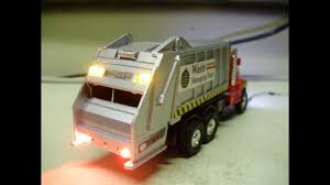 100 Diecast Truck Models Custom 150 Scale Diecast Garbage Truck Model With Working Lights