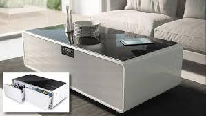 sound cool der tisch kühlschrank mit musik smart home