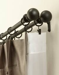 Umbra Cappa Curtain Rod And Hardware Set decor interesting double rod curtain for your beautiful window