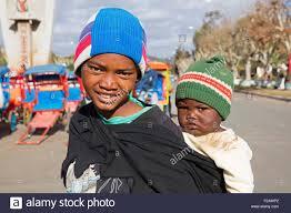 Malagasy Girl About 9 Years Portrait Bekopaka Manambolo Madagascar