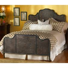Wrought Iron Cal King Headboard abington iron headboard with frame by wesley allen humble abode