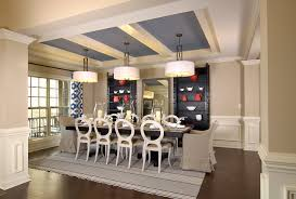 Model Home Transitional Dining Room