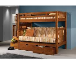 twin over full futon bunk bed kids futon bunk bed