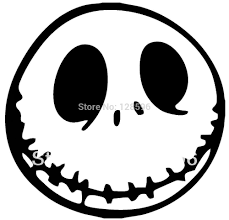 Nightmare Before Christmas Pumpkin Template by Online Buy Wholesale Jack Skellington Sticker From China Jack