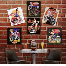 Harley Davidson Bathroom Themes by Harley Davidson Wall Art Bike Repurposed Steel Wall Art Zoom