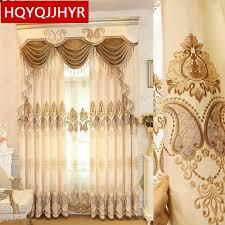 beige grün lila europäischen luxus bestickt blackout vorhänge für wohnzimmer verbesserte chenille nach vorhang für schlafzimmer