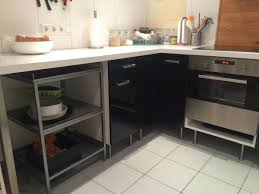 ikea faktum küche incl elektrogeräte schwarz in 71334