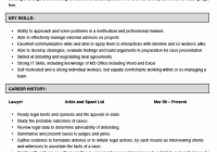 Resume Example Attorney Samples Free Sample Lawyer Template 20
