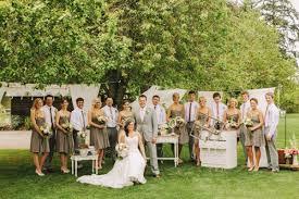Wedding Bridal Party Picture Ideas Dress Kelley Farm Ruffled Rustic