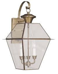livex lighting 2381 westover 3 light outdoor wall lantern shown