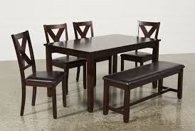 Round Dining Room Set For 6 by Dakota 6 Piece Dining Set Living Spaces