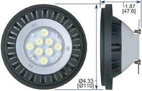 led par36 ar111 bulb weatherproof 13w ledtronics 2292