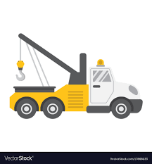 100 Tow Truck Vector Truck Flat Icon Transport And Vehicle Image