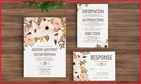 Etsy Wedding Invitations Rustic 277438 Invitation Template Printable Bohemian Floral