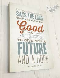 Wall Art Design Ideas Quotations Motivation Christian Canvas Lord Good Future Hope Contemporary