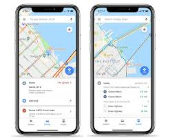 Google Maps for iOS gains quick access tabs with info on nearby