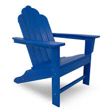 Living Accents Folding Adirondack Chair by Polywood Long Island Adirondack Chair Long Island Polywood