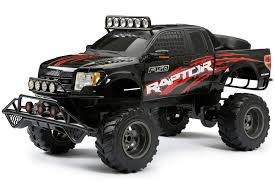 100 Rc Ford Truck New Bright RC 16 Scale Raptor Black Walmart Inventory