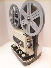 vintage projectors screens in format 8mm brand elmo