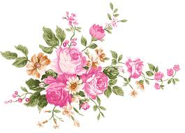 Vintage Bouquet Of Flowers Transparent PNG