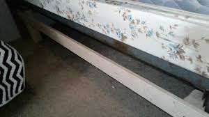 Sturdy Bed Risers by Safe Cheap And Easy Bed Risers Youtube