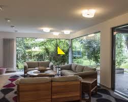 wohnzimmerbeleuchtung lichtlandschaften moderne wohnzimmer