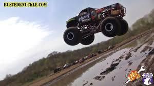 100 Monster Truck Jump MONSTER TRUCK DAM JUMP YouTube