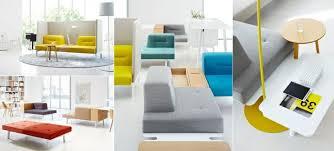 Modular Sofa And Designer Office Furniture Ergonomic Colourful