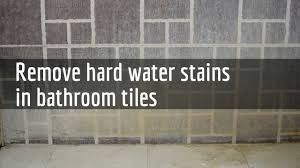 how to remove water stains how to remove water stains using
