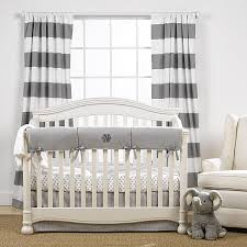 White And Gray Striped Curtains by Gray Striped Nursery Curtains Best Idea Garden