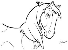 Wild Horse Coloring Pages Spirit Stallion Of The Cimarron 2002 Imdb Free Printable Mustang