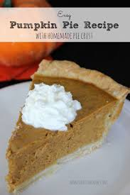 Storing Pumpkin Pie by Pumpkin Pie Recipe With Homemade Pie Crust