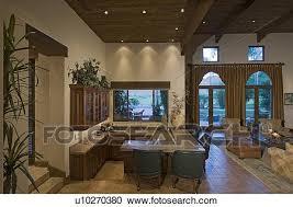 privat bar theke in wohnzimmer luxus landhaus