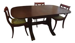 Drexel Heritage Vintage Mahogany Dining Set -Table And 6 Chairs Art Deco Ding Room Set Walnut French 1940s Renaissance Style Ding Room Ding Room Image Result For Table The Birthday Party Inlaid Mahogany Table With Four Chairs Italy Adams Northwest Estate Sales Auctions Lot 36 I Have A Vintage Solid Mahogany Set That F 298 As Italian Sideboard Vintage Kitchen And Chair In 2019 Retro Kitchen 25 Modern Decorating Ideas Contemporary Heywood Wakefield Fniture Mediguesthouseorg