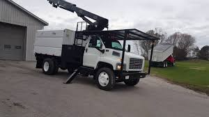 Forestry Bucket Trucks For Sale - YouTube