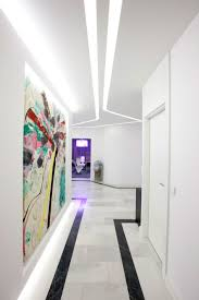 lighting ideas led ceiling lighting and wall decor for hallway