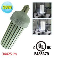 ul cul 250w led corn cob e39 large mogul base 1000 watt metal