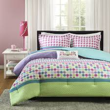 Brilliant Purple Polka Dot Bedding Bedroom The Baby And White