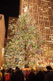 Rockefeller Plaza Christmas Tree by Christmas 2010 At The Rockefeller Center In New York City