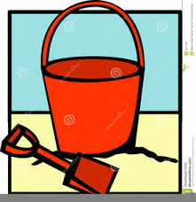 Beach Bucket And Shovel Clipart Image