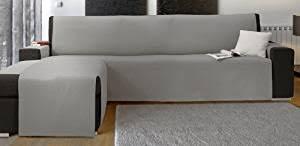 canapé ées 70 scudo housse de canapé d angle droit gris amazon fr