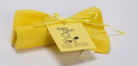 Baby Paper - Crinkly Baby Toy - Yellow