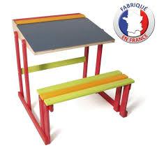 bureau ecolier en bois bureau d ecolier en bois achat vente table jouet d activité