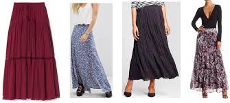 A Simple Maxi Skirt