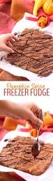 Healthy Pumpkin Desserts by Pumpkin Spice Freezer Fudge The Healthy Maven