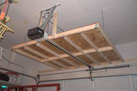 simple garage overhead storage ideas ceiling wood and inspiration