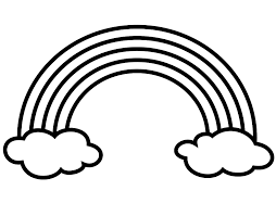 Best Coloring Page Of A Rainbow 31 On Sheets With Coloring Page Of